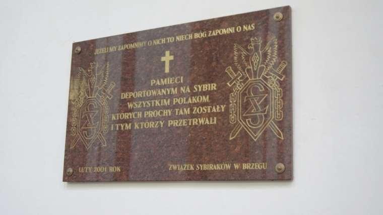 tablica upamiętniająca